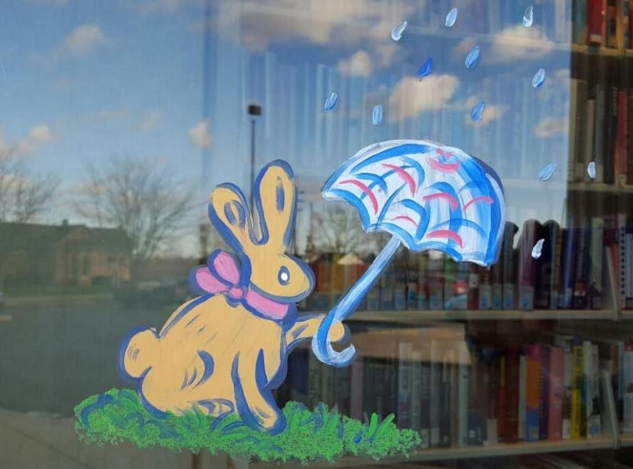 Umbrella Bunny Post Cards