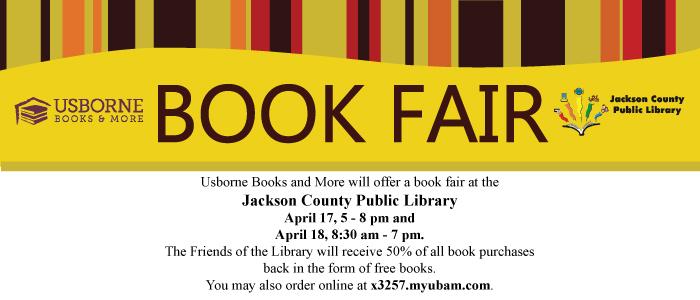 Usborne Book Fair at JCPL! – Jackson County Public Library