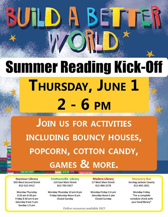 Our Summer Reading Program is open to all ages!  Bring the whole family, sign up for the program, an...