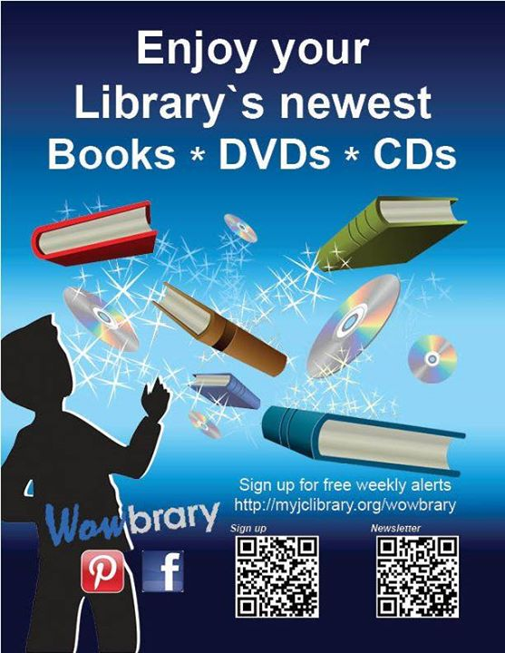 Do you want to get an email every Saturday morning with the library's newest items, including e-book...