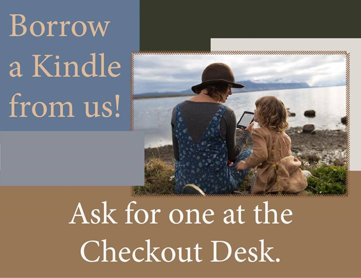 Did you know that you can check out a Kindle Fire at the Seymour Library?  In addition to being pre-...