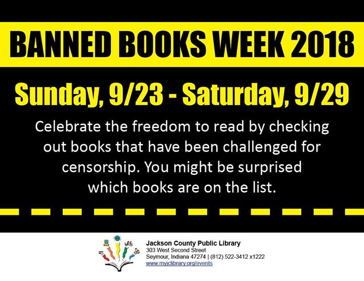 Join us in celebrating the freedom to read by checking out books that have been challenged for censo...
