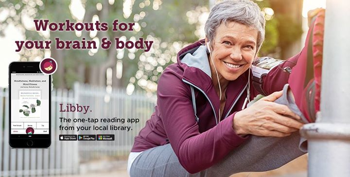Get the Libby app and create a free account to download audiobooks, ebooks and magazines.
