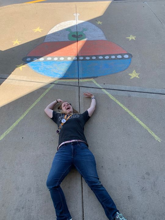 In honor of Seymour's Downtown Chalk Around event, get your picture taken this Saturday June 15th, 9...