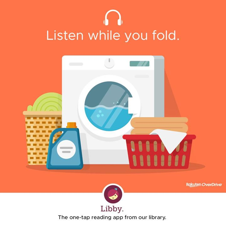 If you like audiobooks, try Libby!  Download the app, create a FREE account with your JCPL library c...