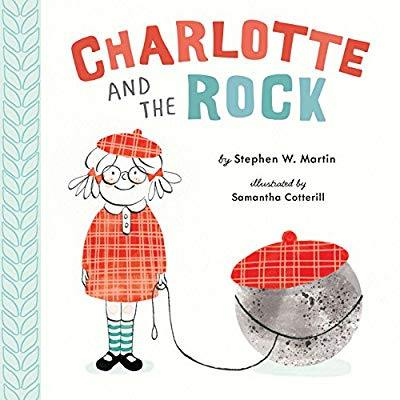 "Today in masterpiece makers we read ""Charlotte and the Rock"" and painted pet rocks!"